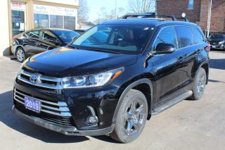 Used 2019 Toyota Highlander Hybrid Limited for sale in Brampton, ON