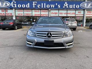 Used 2013 Mercedes-Benz C300 4MATIC, LEATHER SEATS, HEATED SEATS, POWER SEATS for sale in Toronto, ON