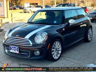 Used 2012 MINI Cooper NO ACCIDENT|PUSH START|BLUETOOTH|CERTIFIED for sale in Oakville, ON