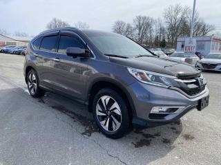 Used 2015 Honda CR-V Touring 4dr AWD Sport Utility for sale in Brantford, ON