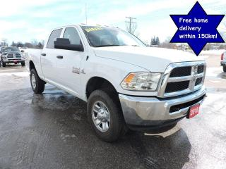 Used 2018 RAM 2500 SXT Diesel 4X4 6 speed standard New tires 61000 km for sale in Gorrie, ON