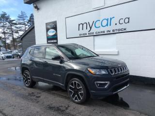 Used 2018 Jeep Compass Limited LEATHER, SUNROOF, NAV, LOADED BEAUTY!! for sale in Richmond, ON