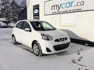 Used 2017 Nissan Micra S A/C, POWERGROUP!! for sale in Kingston, ON