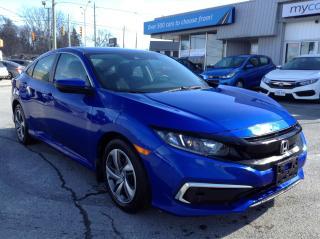 Used 2019 Honda Civic LX HEATED SEATS, BACKUP CAM, MYCAR POWERBUY! for sale in Kingston, ON