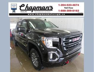 New 2021 GMC Sierra 1500 AT4 Remote Start, Heated & Ventilated Front Seats, HD Surround Vision for sale in Killarney, MB