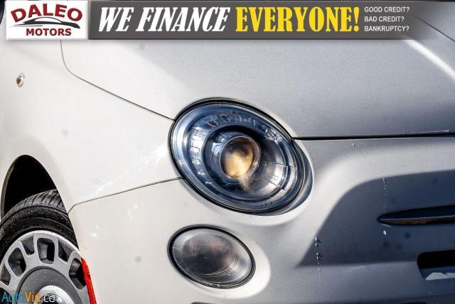 2015 Fiat 500 5 SPEED / 4 PASSENGER / REAR WIPER / USB INPUT Photo2
