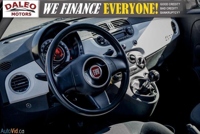 2015 Fiat 500 5 SPEED / 4 PASSENGER / REAR WIPER / USB INPUT Photo14