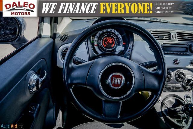 2015 Fiat 500 5 SPEED / 4 PASSENGER / REAR WIPER / USB INPUT Photo15