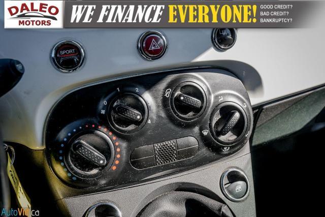 2015 Fiat 500 5 SPEED / 4 PASSENGER / REAR WIPER / USB INPUT Photo18
