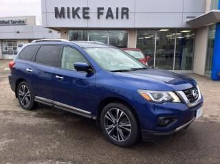 Used 2018 Nissan Pathfinder FWD, Heated Mirrors, Front Heated Cushions, Leather Seat Trim for sale in Smiths Falls, ON