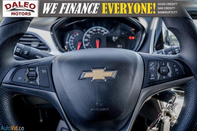 2018 Chevrolet Spark LT / 4 PASSENGER / BACK UP CAM / LOW KMS Photo16