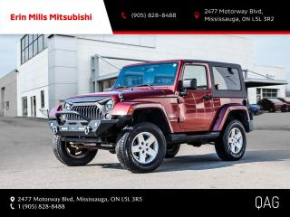 Used 2007 Jeep Wrangler Sahara 2D Utility 4WD for sale in Mississauga, ON