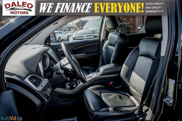 2013 Dodge Journey R/T / BACK UP CAM / HEATED SEATS / LEATHER / PDC Photo11