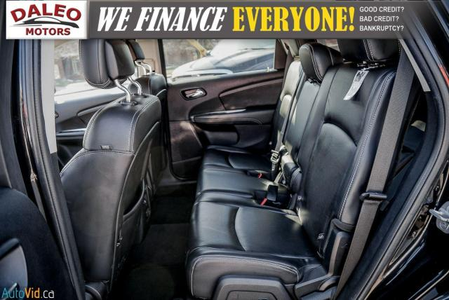 2013 Dodge Journey R/T / BACK UP CAM / HEATED SEATS / LEATHER / PDC Photo12
