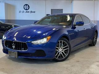 Used 2014 Maserati Ghibli S Q4 AWD|404HP|NAV|BACK UP|EMOZIONE BLUE| for sale in Oakville, ON