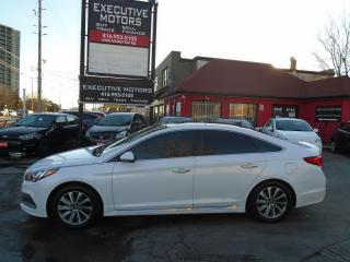Used 2015 Hyundai Sonata 2.4L Sport/ LEATHER / ROOF / PUSH START/ REAR CAM for sale in Scarborough, ON
