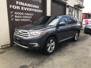 Used 2012 Toyota Highlander Sport for sale in Abbotsford, BC