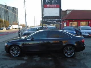 Used 2014 Audi A4 Progressiv/ QUATTRO / NAVI / LEATHER / ROOF / MINT for sale in Scarborough, ON