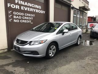 Used 2013 Honda Civic LX for sale in Abbotsford, BC