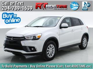 Used 2018 Mitsubishi RVR SE for sale in Winnipeg, MB