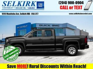 Used 2017 GMC Sierra 1500 - Climate Control - Bluetooth for sale in Selkirk, MB