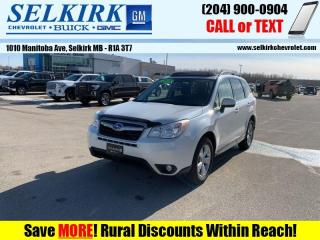 Used 2015 Subaru Forester 2.5i Limited  *NEW TIRES* for sale in Selkirk, MB