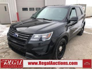 Used 2017 Ford Explorer Police 4D Utility AWD 3.7L for sale in Calgary, AB