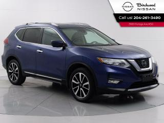 Used 2018 Nissan Rogue SL Accident Free, Leather, Apple CarPlay, Remote Start, Nav., Moonroof for sale in Winnipeg, MB