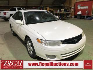 Used 1999 Toyota CAMRY SOLARA SLE 2D COUPE V6 for sale in Calgary, AB