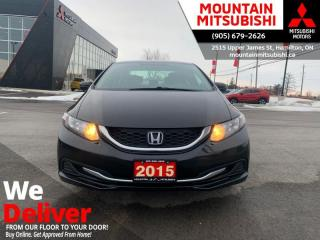 Used 2015 Honda Civic Sedan LX  - Bluetooth -  Cruise Control - $75 B/W for sale in Mount Hope (Hamilton), ON
