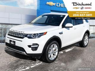 Used 2016 Land Rover Discovery Sport HSE for sale in Winnipeg, MB