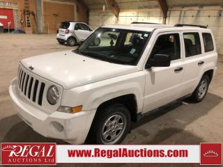 Used 2008 Jeep Patriot 4D Utility for sale in Calgary, AB