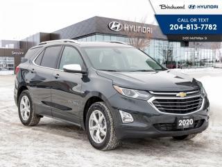 Used 2020 Chevrolet Equinox Premier   Heated Steering   Remote Start   for sale in Winnipeg, MB