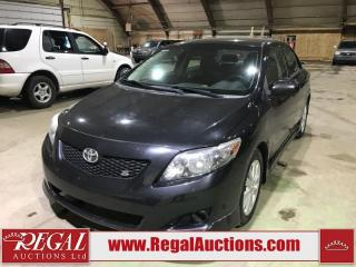 Used 2009 Toyota Corolla S 4D Sedan for sale in Calgary, AB