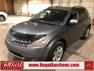 Used 2006 Nissan Murano SL 4D Utility AWD for sale in Calgary, AB