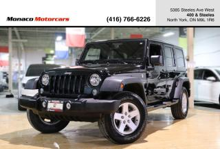 Used 2016 Jeep Wrangler SPORT 4WD - SOFT TOP|HARD TOP|BLUETOOTH|LOW KMS for sale in North York, ON