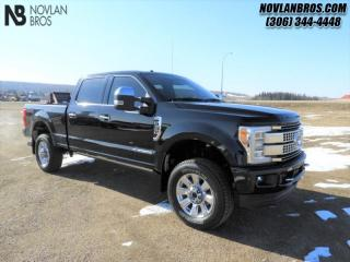 Used 2018 Ford F-350 Super Duty Platinum  - Navigation for sale in Paradise Hill, SK