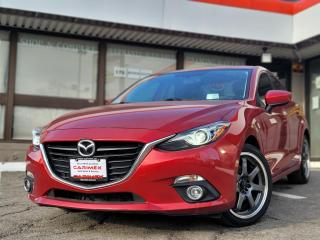 Used 2014 Mazda MAZDA3 GT-SKY SUNROOF | HUD | BOSE | NAVI for sale in Waterloo, ON