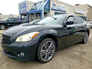 Used 2011 Infiniti M37x ADAPTIVE CRUISE|LANE ASSIST|NAVIGATION|BLIND SPOT for sale in Concord, ON