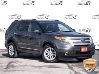 Used 2015 Ford Explorer XLT REVERSE CAMERA | NAVIGATION SYSTEM | CLEAN CARFAX for sale in St Catharines, ON