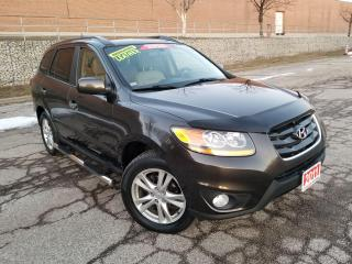 Used 2011 Hyundai Santa Fe LIMITED,NAVIGATION,LEATHER,REARCAM,SROOF,CERTIFIED for sale in Mississauga, ON