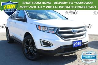 Used 2018 Ford Edge SEL FORD CERTIFIED! FINANCE AT 2.9% OAC!! for sale in Hamilton, ON