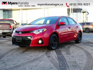 Used 2015 Toyota Corolla S  Recent trade-in for sale in Kanata, ON