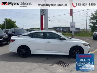 New 2021 Nissan Sentra SR CVT  -  Sunroof -  Heated Seats - $181 B/W for sale in Orleans, ON