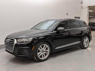 Used 2017 Audi Q7 TECHNIK/S LINE/DYNAMIC PKG/DRIVER ASSISTANCE PLUS! for sale in Toronto, ON