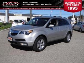 Used 2010 Acura MDX PREMIUM LEATHER/SUNROOF/7 PASS for sale in North York, ON