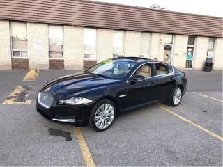 Used 2013 Jaguar XF PREMIUM AWD NAVIGATION/LEATHER/MERIDIAN SOUND for sale in North York, ON