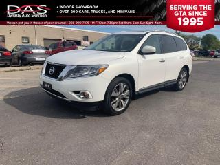 Used 2014 Nissan Pathfinder PLATINUM 4X4 NAVIGATION/PANO ROOF/DVD for sale in North York, ON