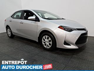 Used 2018 Toyota Corolla CAMÉRA DE RECUL - BLUETOOTH for sale in Laval, QC