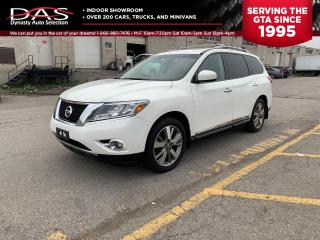 Used 2013 Nissan Pathfinder PLATINUM 4X4 NAVIGATION/PANORAMIC ROOF/7 PASS for sale in North York, ON